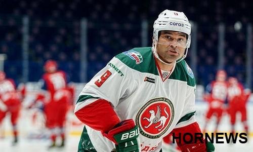 Хоккеист сборной Казахстана помог «Ак Барсу» отыграться с 0:3 в матче КХЛ
