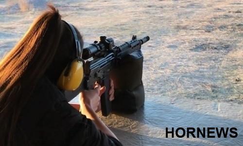 «Когда Куат Хамитов появился на горизонте». Поклонники Сабины Алтынбековой комментируют ее стрельбу